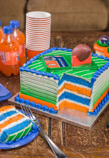 How-To Make Fan-Tastic NFL Surprise-Inside Cake