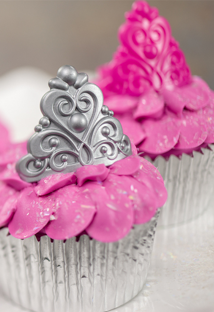 How-To Make Princess Crown Cupcakes