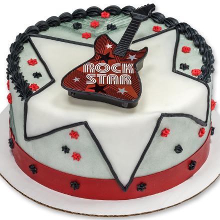 How-to Make a Rock Star Guitar Cake
