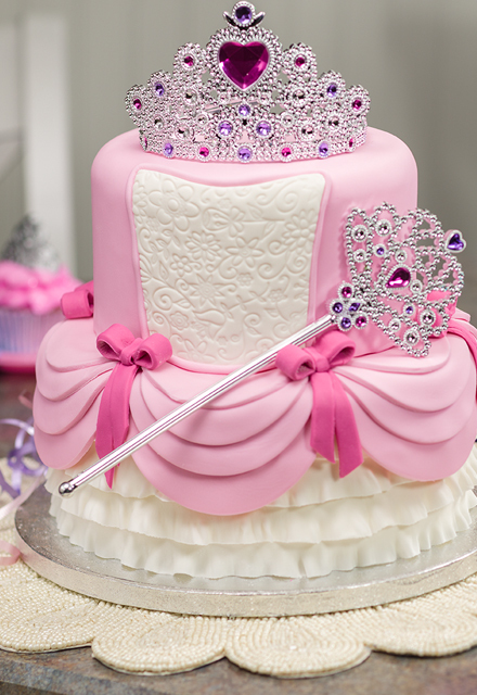 How-To Make a 2-Tier Princess Cake
