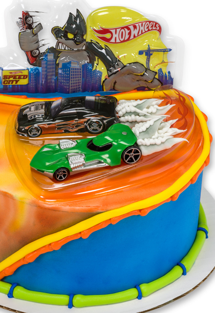 How-to Make a Hot Wheels Wild Ride Cake