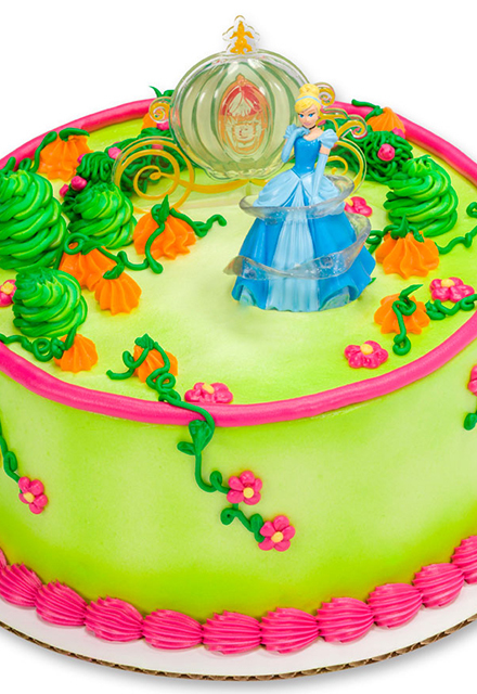How-To Make a Disney Princess Cinderella Magic Cake