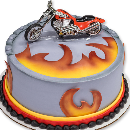 How-to Make a Motorcycle Birthday Cake