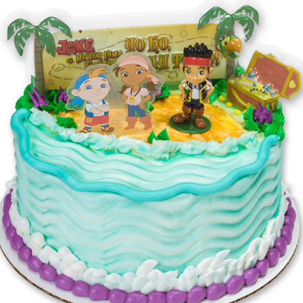 How-To Make a Jake & the Never Land Pirates Birthday Cake