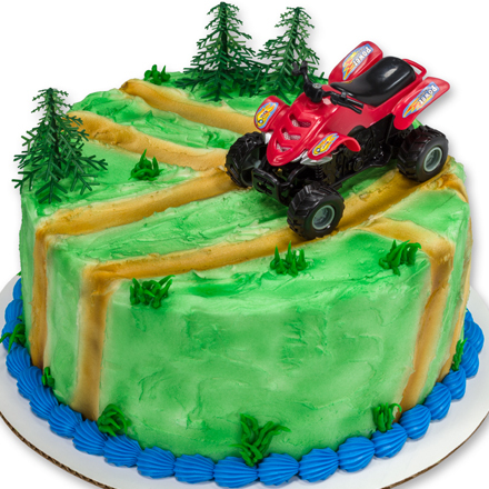 How-to Make an ATV Birthday Cake