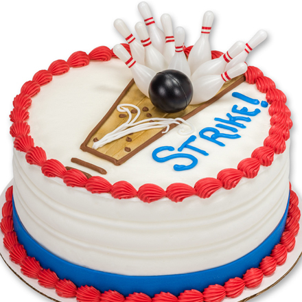 How-to Make a Bowling Cake