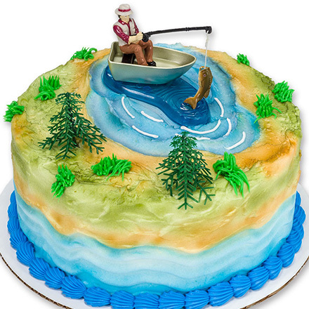 How-to Make a Fisherman with Action Fish Cake