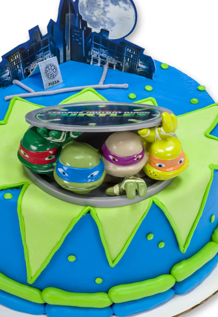 How-To Make a Teenage Mutant Ninja Turtles Birthday Cake