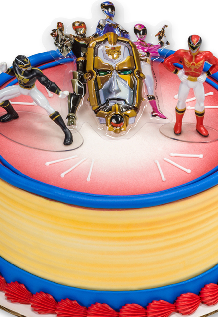 How-to Make a Power Rangers Mega Force Cake