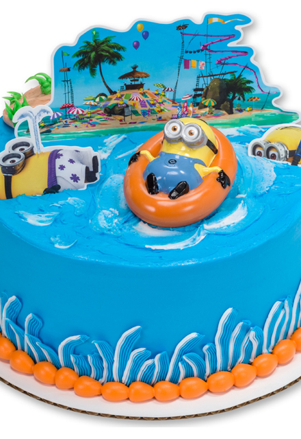 How-To Make an Easy Despicable Me 2 Party Cake