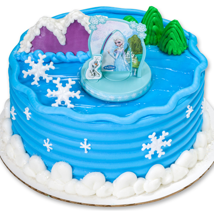 How-To Make a Disney's Frozen: Anna & Elsa Birthday Cake
