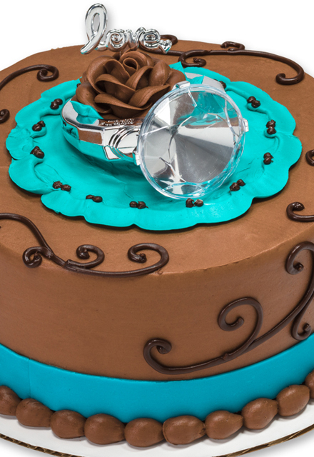 How-To Make a With This Ring Wedding Cake