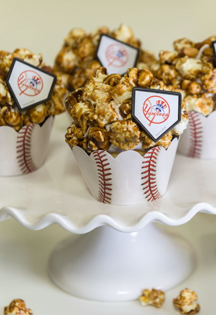 How-To Make MLB Caramel Corn Cupcakes