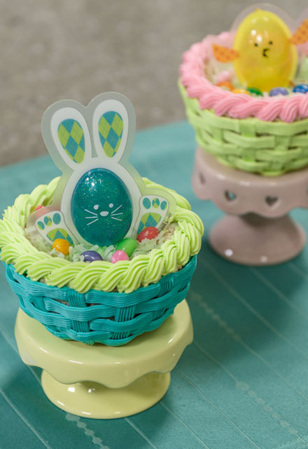 How-To Make  Edible Easter Baskets for Kids