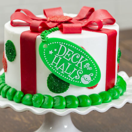 How-To Make a Holiday Gift Cake