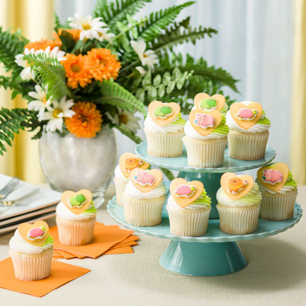 How-To Make  SugarSoft™ Safari Babies Cupcakes