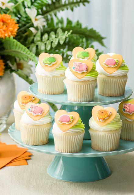 How-To Make  SugarSoft™ Safari Babies Cupcakes