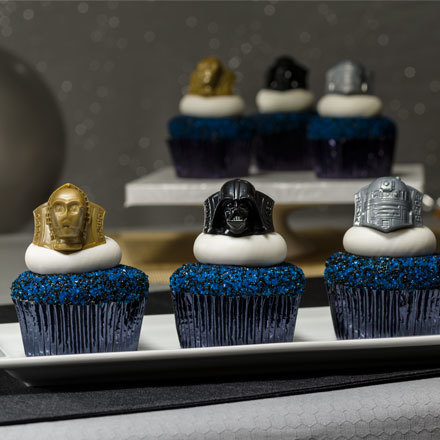 How-to Make Classic Star Wars Cupcakes