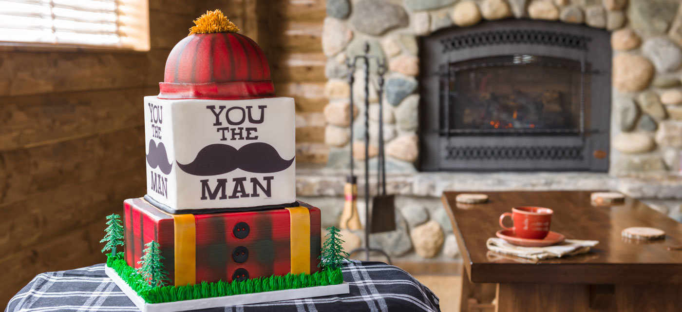 How-To Make a Plaid Lumberjack Cake for Father's Day