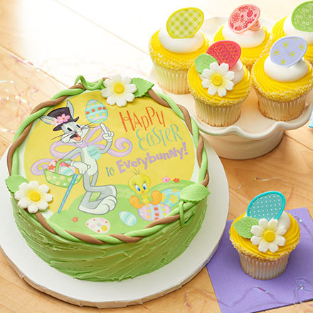 How-To Make a Looney Tunes Bugs Bunny Easter Cake