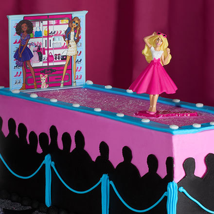 Sparkle & Shine: Barbie's Fashion Show Cake