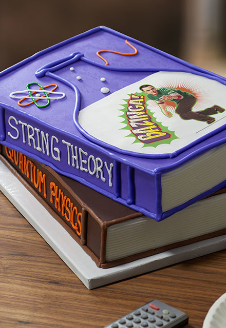 How to Make a Big Bang Theory Bazinga Cake