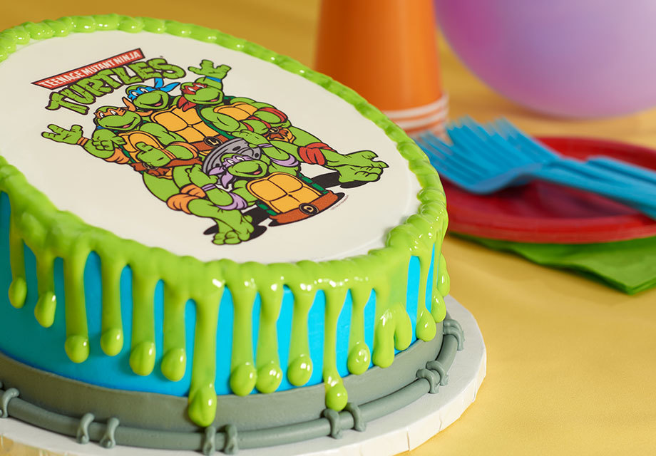 How to Make a Teenage Mutant Ninja Turtles Drip Cake