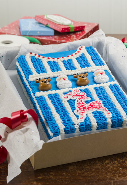 How-To Make an Ugly Sweater Cake