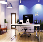 Tech start up office design received our affordable for Inexpensive interior design help