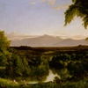 View on the Catskill, Early Autumn by Cole (22)