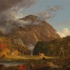 View of the Mountain Pass Called the Notch of the White Mountains (Crawford Notch) by Cole (61)