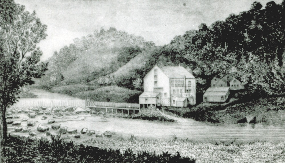 Austin's Glen Hope Mill, A. Austin & Son, Catskill