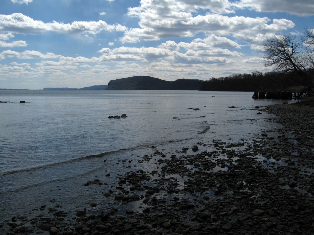 View of the Hudson from Croton Point