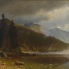 Echo Lake, Franconia Mountains, New Hampshire by Bierstadt (402)