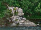 Rock Formation at Catskill Creek