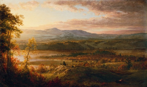 Catskill Mountains from the Home of the Artist