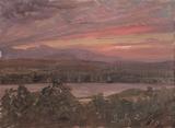 Sunset from Olana
