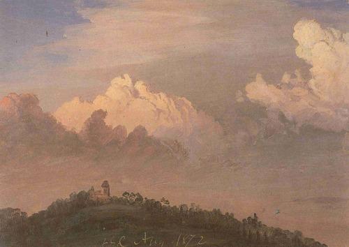 Olana in the Clouds