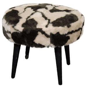 Faux_fur_stool