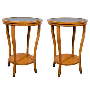 Burl_and_blue_glass_tables