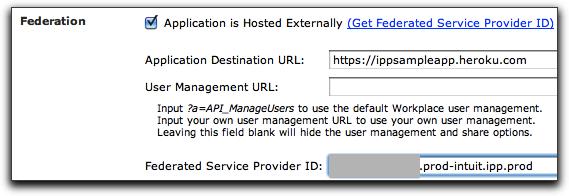 enter service provider id