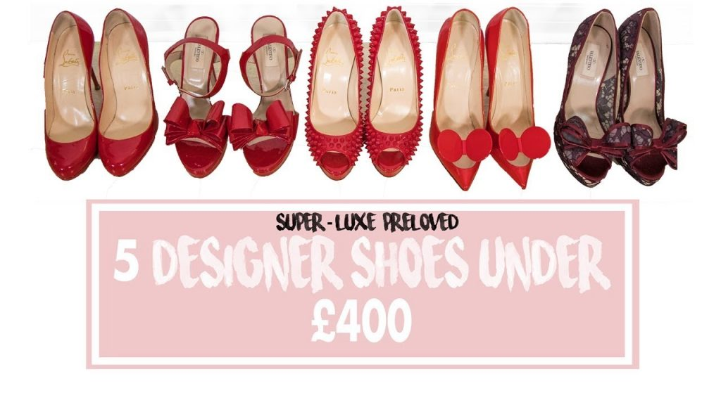 LUXURY SHOPPING | Designer Shoes ft. Dior, Christian Louboutin Under £400