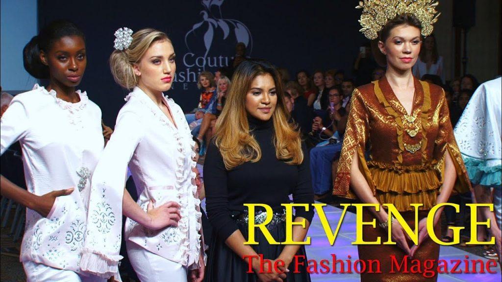 Sara Jamaludin @ Couture Fashion Week (Sept. 2017)
