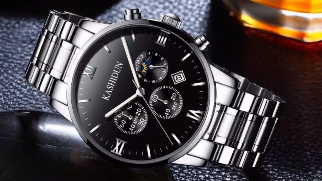 Top Brand Luxury Business Quartz watch  Waterproof Wristwatch