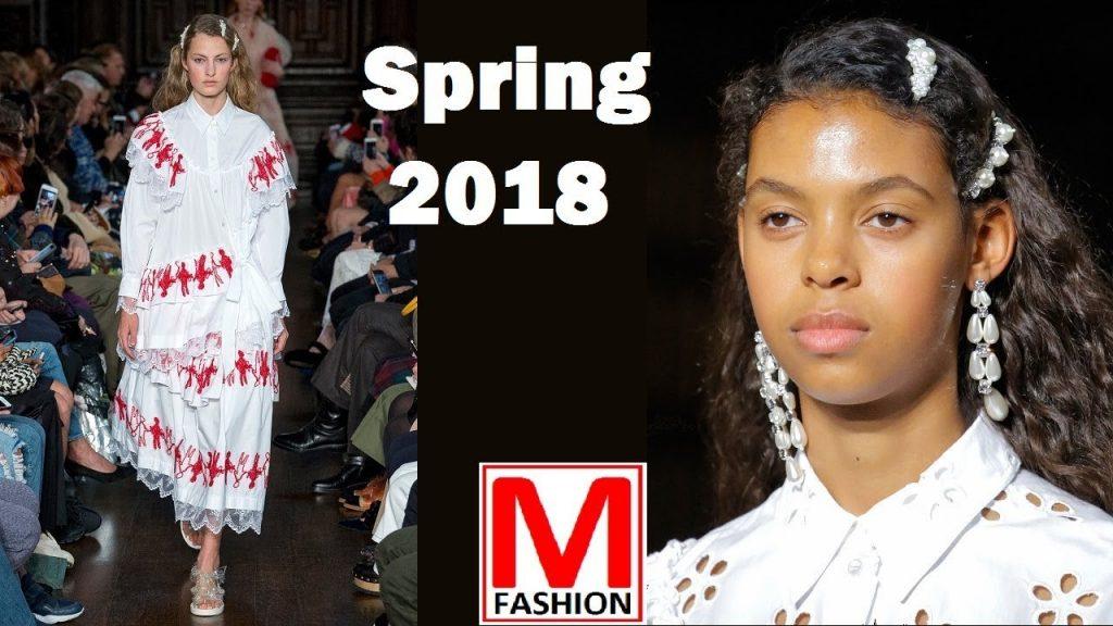 Simone Rocha runway Spring Summer 2018 London fashion week Full fashion show