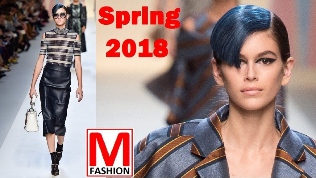 Fendi runway Spring Summer 2018   Karl Lagerfeld's collection Milan fashion week  Full fashion show