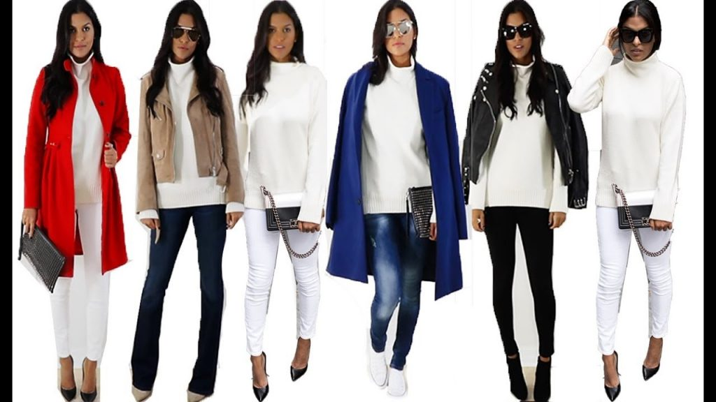 HOW TO STYLE: WHITE CHUNKY KNITS THIS FALL |  Luxury Fashion ft. Gucci, Chanel