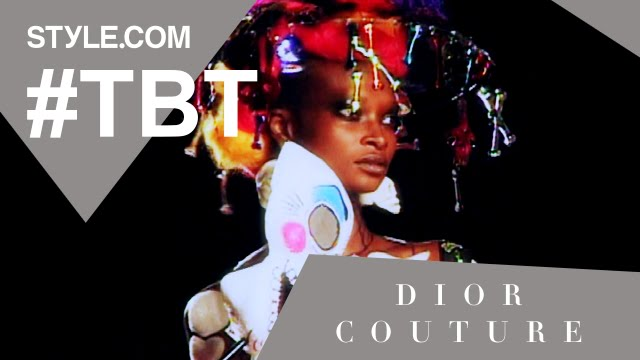 John Galliano's Dior Haute Couture Wedding – #TBT With Tim Blanks – Style.com