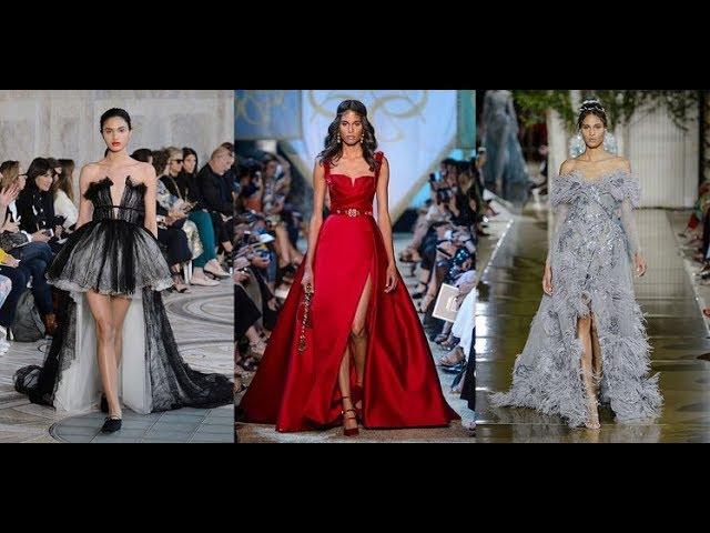 Défilés haute couture  les robes de rêve des podiums automne hiver 2017 2018