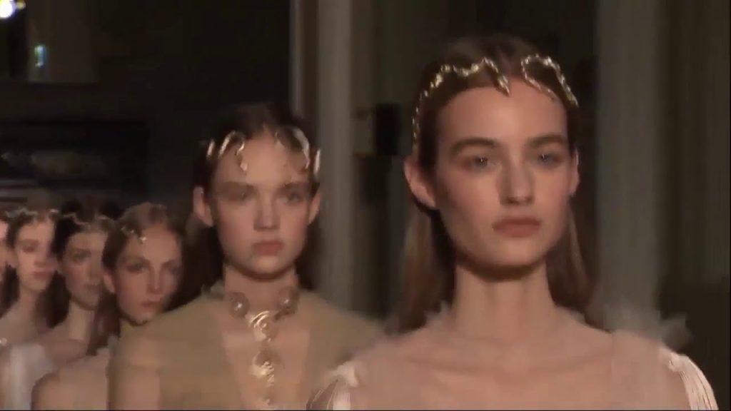 Valentino Haute Couture Spring Summer 2016 runway fashionl show Paris fashion week -New York Fashio